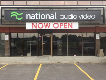 Hi-Fi Dealers Directory: National Audio Video - Edmonton, Canada