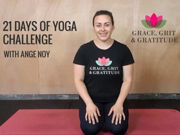 Services: Grace, Grit & Gratitude 21 Days Of Yoga Challenge