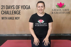Services: Grace, Grit & Gratitude 21 Days Of Yoga Challenge