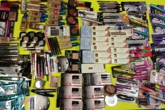 Buy Now: Lot of 155 Assorted Brand Name Makeups. Maybelline, L'oreal, etc