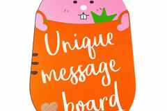 Buy Now: Robbie The Bunny Tabletop Chalkboard Sign With Easel
