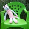 Vente au détail: Peluche doudou tricotée