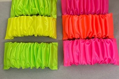 Buy Now: 500 pcs-- Neon Fabric Hair Barrettes-- $ .25 pcs