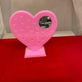Buy Now: 240 pcs  Pink Heart Earring Holder with Mirror-- $ .40 pcs