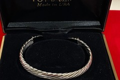 Buy Now: 50 pcs-- Boxed Polished Silver Cuff Bracelet-- $1.99 in box