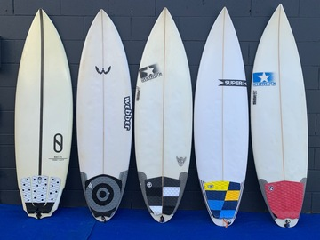 For Rent: PERFORMANCE SHORTBOARDS (various sizes) (current models)