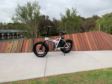 Weekly Rate: Electric Bike, 250 Watt Pedalec, Perth