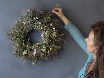 Workshop Angebot (Termine): Frühlingskranz der ewig hält!