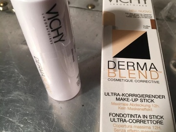 Selling with online payment: Brand New Vichy Derma Blend Coffee Cafe Foundation Stick 12g