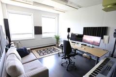 Renting out: Arabia 22m2 työhuone/editti/musastudio näköalalla
