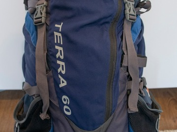 Leier ut (per day): The North Face, Terra 60L rinkka