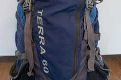 Renting out (per day): The North Face, Terra 60L rinkka