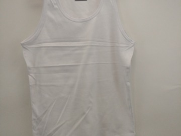 Buy Now: Girls Blank white Tank top ..Perfect For screen printing @1.50ez