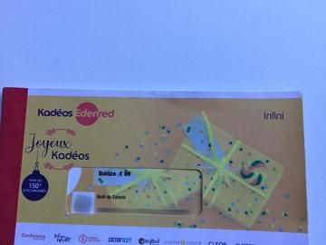 Vente: Chèques Kadeos Edenred Infini (150€)