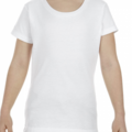 Make An Offer: ALL style girls t shirts #3362  white perfect for printing