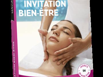 """Vente: e-coffret Wonderbox """"Invitation bien-être"""" (29,90€)"""