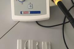 Artikel aangeboden: Waxelectric light 1 elektrisch modelleermes met toebehoren