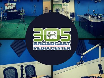 Rent Podcast Studio: 305 Broadcast Media Center