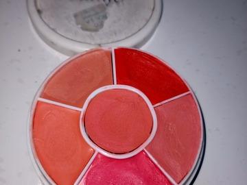 Venta: Ben Nye colorete en crema, labial en crema paleta