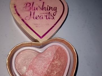 Venta: i love makeup blushing hearts blush colorete hightlighter