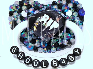 Selling with online payment: Ghoul Baby Adult Pacifier