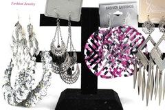 Buy Now: 50 Pairs Large Women's Dangling Earrings