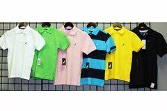 Buy Now: Nautica Boys 8-20 Famous Brands pique polos 36pcs.