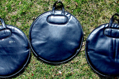 "Selling with online payment: 2 very clean 20"" cymbal bags made in the U.S.A."