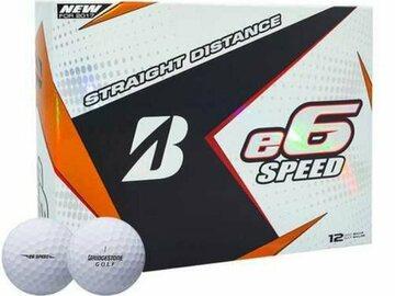 Selling: Bridgestone 2017 e6 Speed Golf Balls - Dozen White