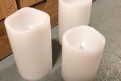 Ilmoitus: LED-kynttilät (3kpl)
