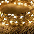 Buy Now: pper Wire String Light 50ct Battery Operated Co)–Indoor/Outddoor