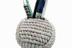 Buy Now: 24 Holders - Sunbelt Gifts Rope Knot Pen Holder – Item #7590-18