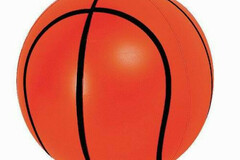 Buy Now: (48) Blue Wave Play Blow Up Basketball -16″ Inflatable Beach Ball