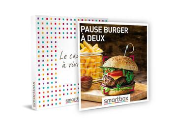 """Vente: e-coffret Smartbox """"Pause burger à 2"""" (39,90€)"""