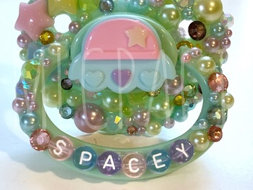 Selling with online payment: Spacey Adult Pacifier