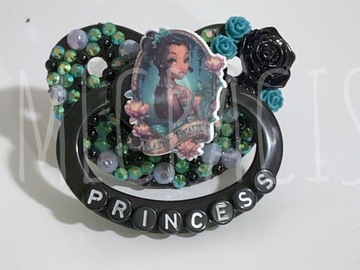Selling with online payment: Frog Princess Adult Pacifier