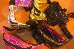 Buy Now: Fanny Packs Wholesale Metalic style 36pcs.