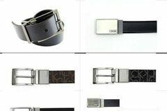 Buy Now: Calvin Klein men's leather belts assortment 18pcs.