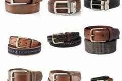 Buy Now: Tommy Hilfiger men's leather belts assortment 12pcs.