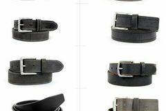 Buy Now: Timberland men's leather belts assortment 18pcs.