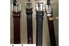 Buy Now: Cole Haan men's leather belts assortment 12pcs.