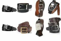 Buy Now: Ralph Lauren men's leather belts assortment 12pcs.