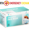 Instant Buy: Emergency-Aid Products: 3-Layered Protective Masks CE / FDA Certified (50 pcs via DHL)