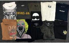 Buy Now: Screen printed wholesale Men's T-shirts pallet assortment 500pcs.