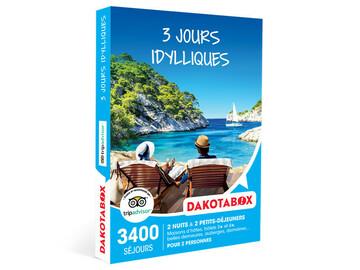 "Vente: E-Coffret Dakotabox ""3 jours idylliques"" (119,90€)"
