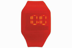 Liquidation/Wholesale Lot: 24 Watches - Futuristic Digital Watch – Red