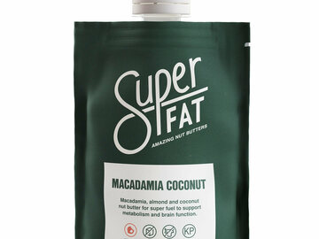 Online Listing: SuperFat Squeezable Nut Butters (Original Macadamia Coconut)
