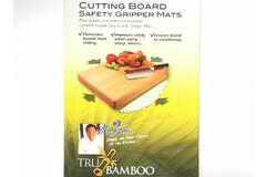Buy Now: 72 Mats - Tru Bamboo Set Of 2 Cutting Board Safety Gripper Mat