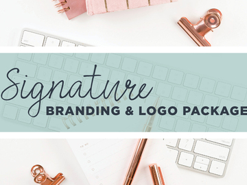 Offering online services: Signature Branding & Logo Package