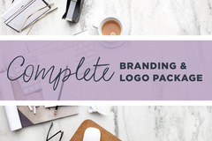 Offering online services: Complete Branding & Logo Package